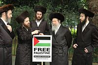 Members of Neturei Karta Orthodox Jewish group protest against Israel.jpg