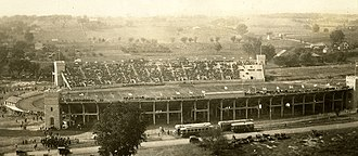 World War I Memorial Stadium - Memorial Stadium, 1924