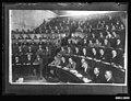 Men assembled in the Sale Room at the Royal Exchange Building, Bridge Street, Sydney (8639265478).jpg