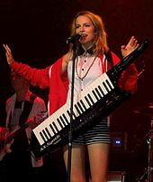 Mendler performing on Summer Tour in July 2013