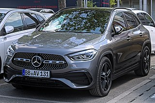 Mercedes-Benz GLA-Class Motor vehicle