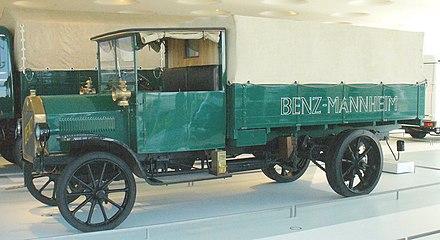 Benz Lastwagen Von 1912