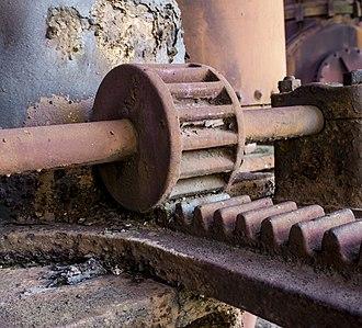 Sloss Furnaces - Image: Metalwork at Sloss Furnaces, image by Marjorie Kaufman