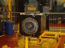 Metrocar motor, Tyne and Wear Metro depot open day, 8 August 2010.jpg
