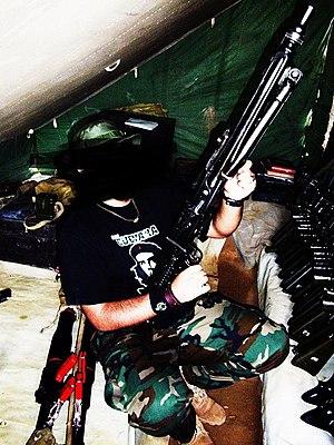 Gun laws in Pakistan - A Pakistani built MG-3.