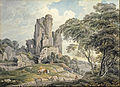 Michael A. Rooker - A view of a ruined castle - Google Art Project.jpg
