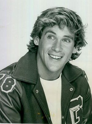 Michael Dudikoff - Dudikoff as Douggie Krebs on Star of the Family in 1982