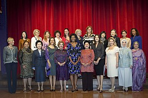 First Lady - First ladies in Pittsburgh, Pennsylvania, September 25, 2009