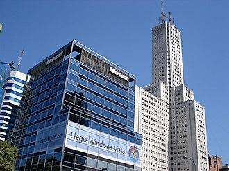 Avenida Córdoba - Image: Microsoft argentina