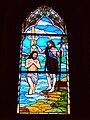 Mielno witraz Chrzest Jezusa w Jordanie.JPG