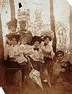Miensk, Doŭhi Brod, Vajskovaja. Менск, Доўгі Брод, Вайсковая (1900).jpg
