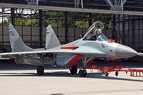 Mikoyan-Gurevich MiG-29B (9-12B) Serbian AF.jpg