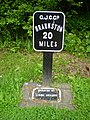 Milepost 20 on the Grand Union Canal - geograph.org.uk - 1349377.jpg