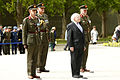 Military Ceremonial at Arbour Hill Cemetery 2014 019 (14137084674).jpg