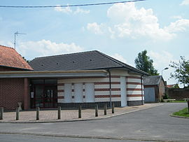 The town hall in Millencourt