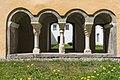 Millstatt Benediktinerstift Kreuzgang SO-Ansicht Viererarkade 20042015 2318.jpg