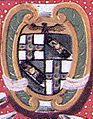 Miniatura arme della famiglia Bandini Piccolomini inquartato Siena.jpg