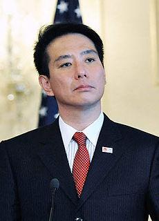 Seiji Maehara Japanese politician