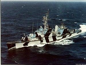 Chilean destroyer Ministro Portales (DD-17) - Image: Ministro Portales