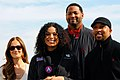 Minka Kelly Jordin Sparks Robert Horry Thomas Malone USO tour.jpg