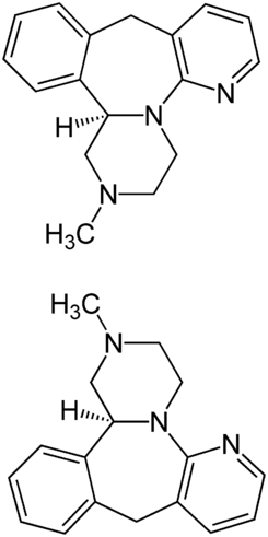 Mirtazapin Structural Formulae.png