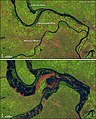 Mississippi near St-Louis normally and in flood 93.jpg