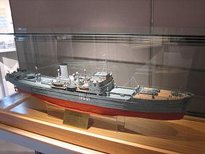 German night fighter direction vessel Togo