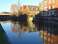 Modern housing beside the Kennet, Reading - geograph.org.uk - 633862.jpg