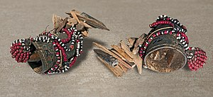 Sampy - Ody made of horn, wood, beads and shells
