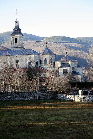 Monastery of El Paular - Real Monasterio de Santa María de El Paular (Madrid).