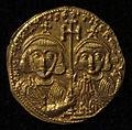 Monete d'oro di giustiniano II e tiberio IV, 705-711, 02, 5.jpg