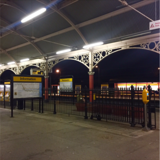 Monkseaton Metro station - Railway Station