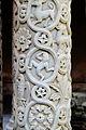 Monreale - Kathedrale Kreuzgang 09 Säule.JPG