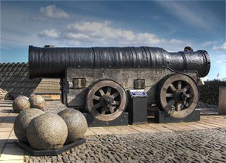 Cannons on Battery Row