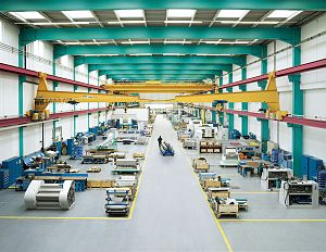 Buhler Group - Assembly hall Bühler Uzwil