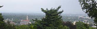 Montclair, New Jersey - Panoramic view of Montclair, New Jersey
