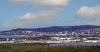 Montego Bay - View of Montego Bay from the hillside