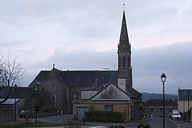 The church of Saint-Étienne