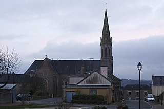 Monterfil Commune in Brittany, France