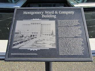 Montgomery Park (Portland, Oregon) - Historical plaque