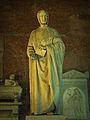 Monument of Leonardo da Pisa (Fibonacci), by Giovanni Paganucci, completed in 1863, in the Camposanto di Pisa..jpg