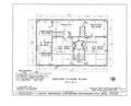 Moody Parsonage, Rockingham, Rockingham County, NH HABS NH,8-ROCK,1- (sheet 2 of 19).png