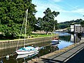 Moored up on the Dart at Totnes - geograph.org.uk - 917386.jpg