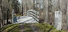 Moores Creek Bridge, Moores Creek National Ballfield (Pender County, North Carolina).jpg