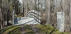Moores Creek National Battlefield - Image: Moores Creek Bridge, Moores Creek National Ballfield (Pender County, North Carolina)