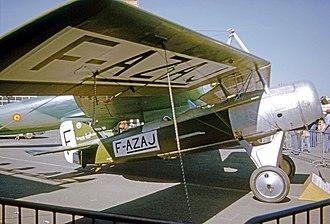 Morane-Saulnier MS.138 - Preserved Morane-Saulnier MS.138 at the Musee de l'Air, Le Bourget Airport, Paris in 1975
