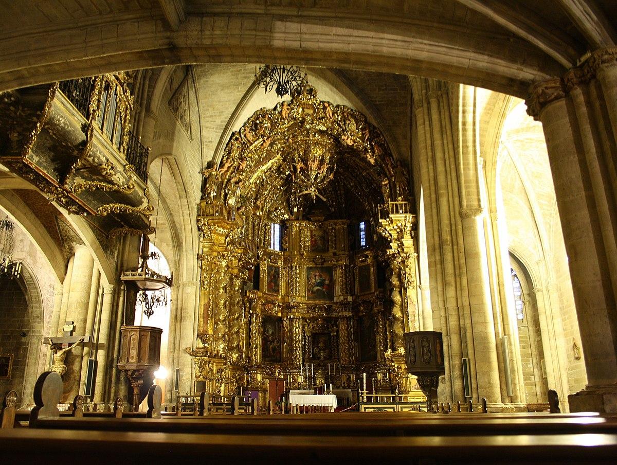Iglesia de santa mar a morella wikipedia la - Interior de castellon ...