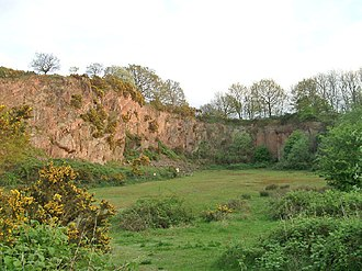 Morley Quarry - Image: Morley Quarry, Shepshed, looking south geograph.org.uk 85022