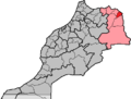 Morocco, region Oriental, préfecture Oujda-Angad.png