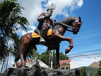 Morong, Rizal - Caballero monument, Barangay Maybancal